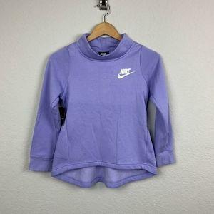 Nike Girl Sweater Long Sleeve Purple Sz: M